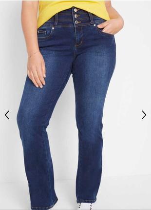 Утягивающие джинсы john baner прямые