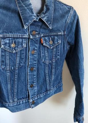 Джинсовая куртка levi's оригинал