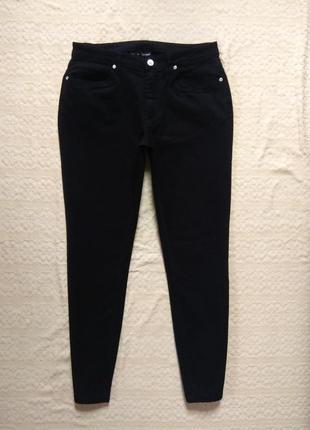 Стильные черные джинсы скинни body flirt, 42 размер,