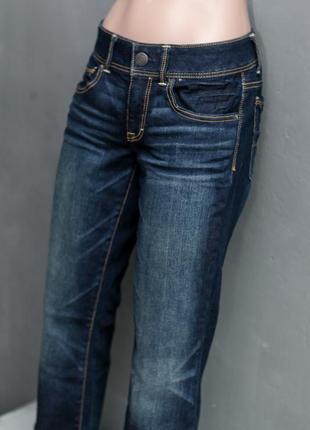 American eagle темно-синие джинсы