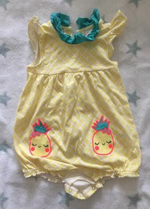 Ромпер песочник комбинезон lc waikiki 9-12 месяцев на девочку