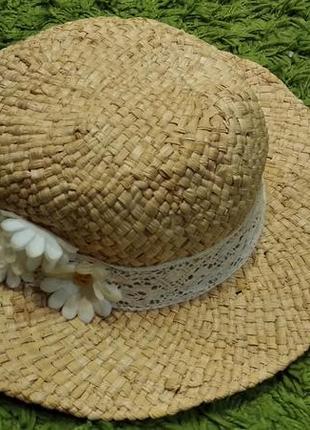 Детская соломенная шляпа от h&m