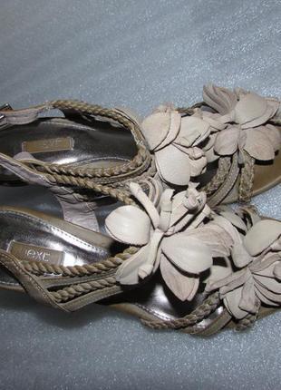 Красивые босоножки на каблуке ~next~ вьетнам р 38-38.5