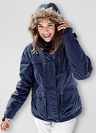 Обалденная теплая лыжная куртка тсм tchibo recco размер 42 евро