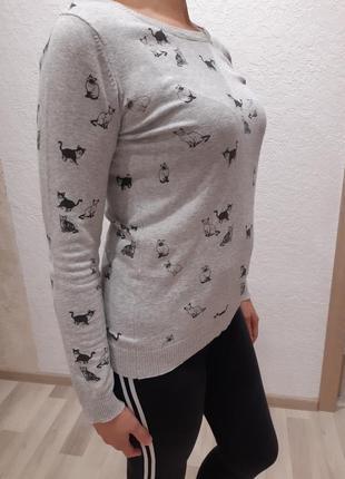 Реглан свитер
