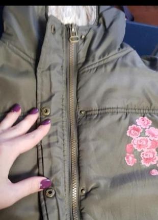 Демисезонная куртка topolino для девочки