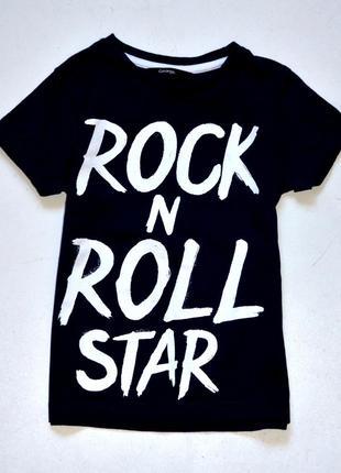 George. яркая футболка для звезды rock n roll.  4-5 лет. рост 104-110 см