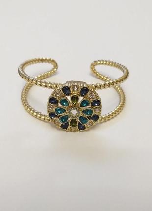 Красивый браслет с массивным украшением барокко эйвон / весенние скидки