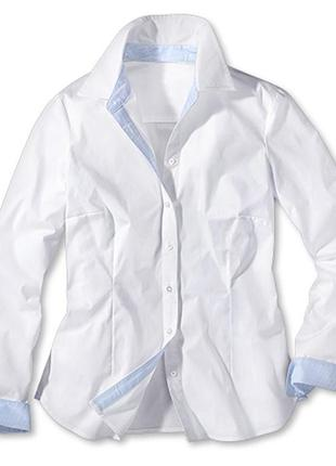Белая рубашка, блуза 40 euro tchibo, германия