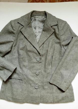 Lanvin шерстяной пиджак