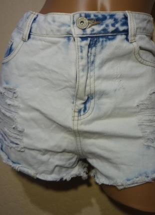 Короткие шорты от denim co размер м