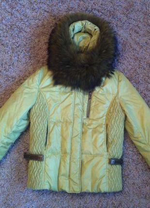 Куртка пуховик clasna