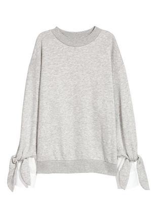 Стильный свитшот 2в1 с рубашкой h&m.