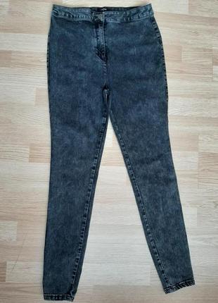 Стрейч котоновые брюки скины 48-50р