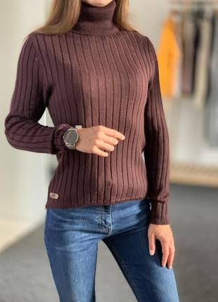 Шерстяной свитер под горло fila 36-38