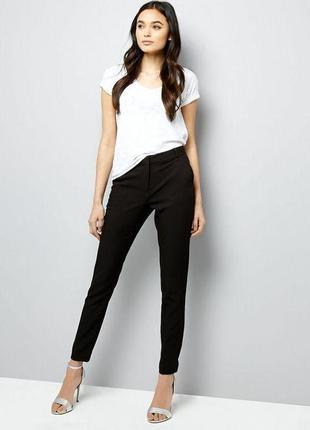 Базовые брюки сигареты с завышенной талией,xs ,new look