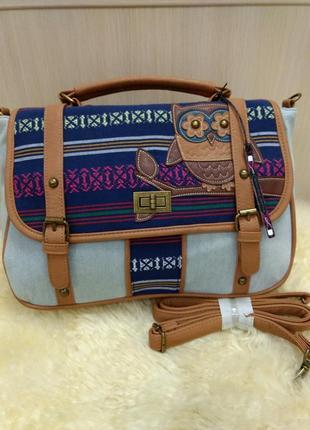 Интересная большая новая сумка casa di borse