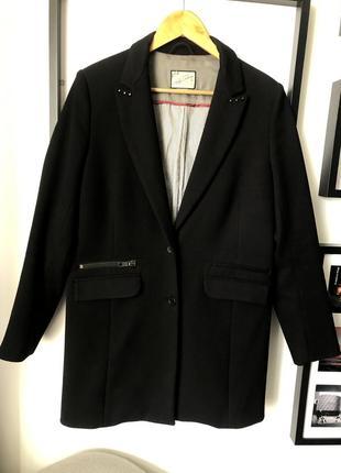Удлинённый жакет-пальто pull&bear