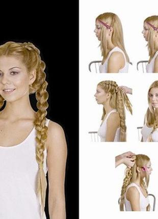 Волосы натуральные коса