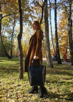 Кожаная сумка-тоут tara sevich4 фото