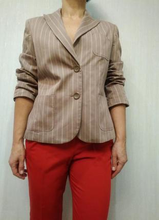 Стильный пиджак в полоску more & more p 42