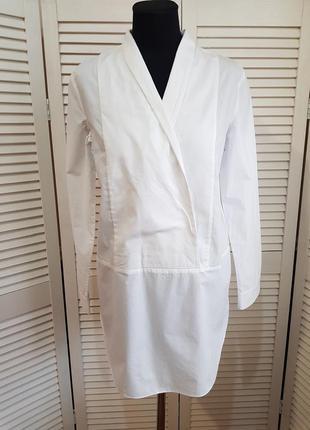Белая блуза рубашка cos