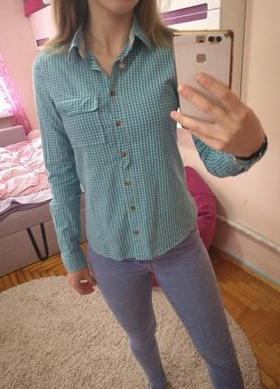 Клетчастая рубашка