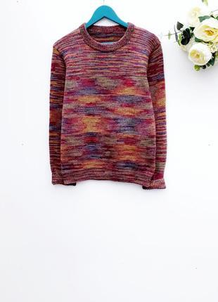 Теплый свитер плотный и оригинальный свитер
