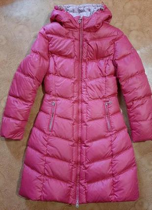 Пуховое пальто, пуховик snowimage, рост 158-164.