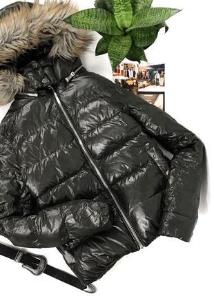 Женский зимний пуховик куртка от zara
