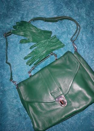 Яркая стильная сумка m&s