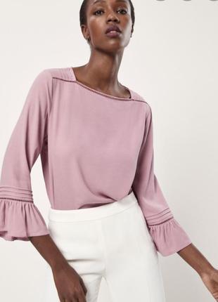 Безупречная блуза от massimo dutti 💞
