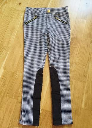 H&m лосины леггинсы брюки штаны треггинсы 6-7 лет 122 см