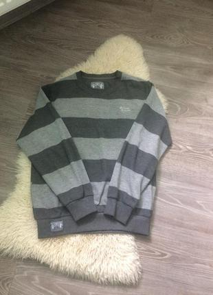 Тёплый натуральный свитер