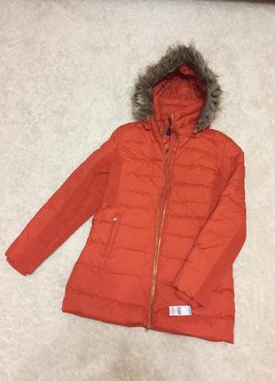 Summer sale! пальто зимнее пуховик