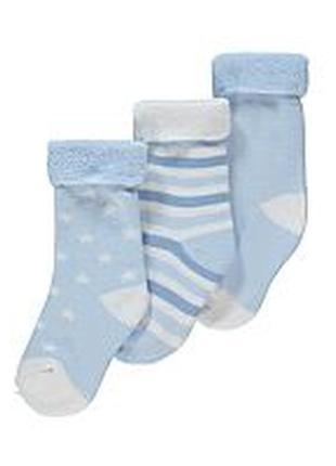 Теплые махровые носочки для малыша1 фото