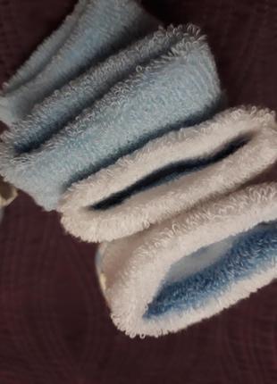Теплые махровые носочки для малыша4 фото