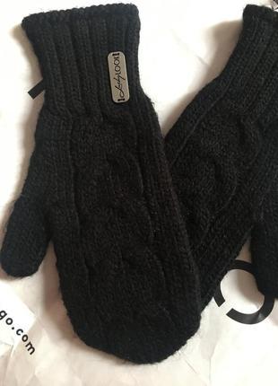 Перчатки , варяшки , варежки , вязаный рукавицы , зимние перчатки lucky look