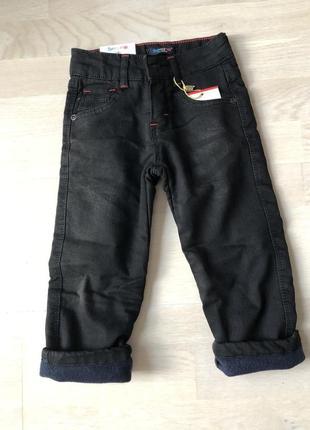Чёрные джинсы {с начесом !}
