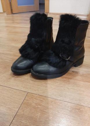Зимние классические ботинки gem