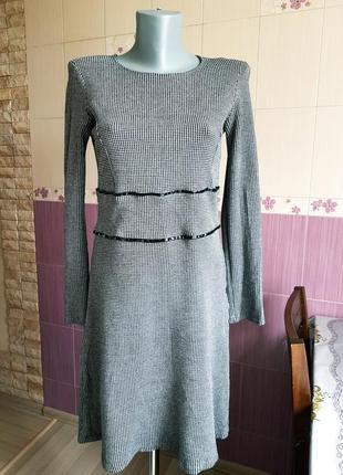 Элегантное платье из вискозы оригинал patrizia pepe