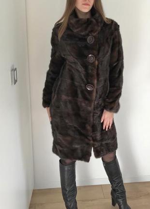 Норковая шуба blackglama american legand mink