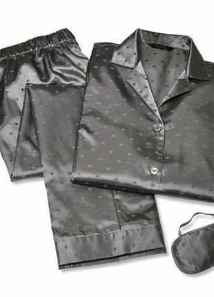 Сатиновая пижама, размер 38