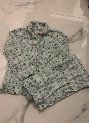 Пижама для девочки 8-9 лет