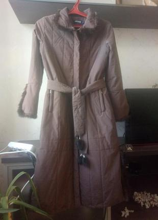 Теплое и легкое пальто