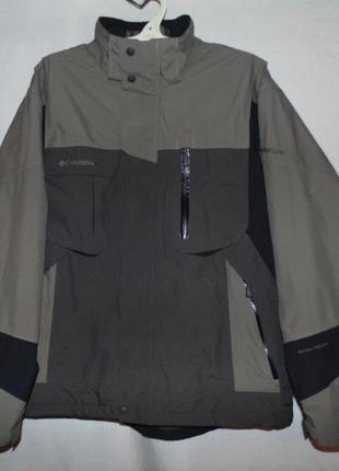Куртка columbia titanum оригинал внутри куртки крутейший принт размер xl