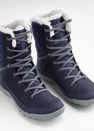 Женские теплые ботинки quechua