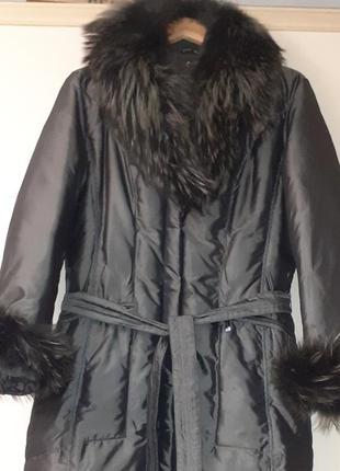 Пальто женское пуховое 48р