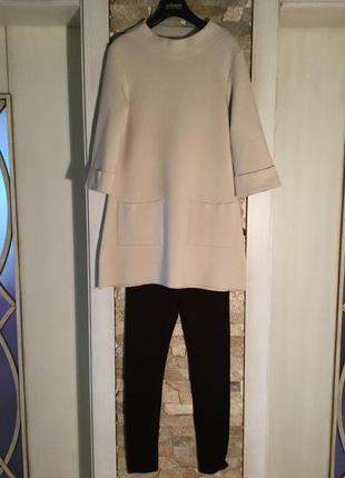 Трикотажный костюм — комплект — италия  contatto.  осень—зима.