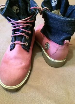 Женские осенние ботинки timberland